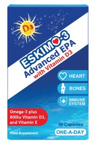 Eskimo Advanced EPA with vitamin d3 for bones and joints
