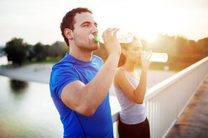 Keep hydrated to lubricate your joints